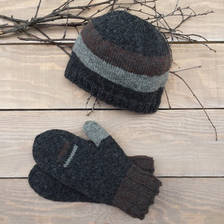 beanie-wool-hat-men= women-mitts-mittens-canada-mitaines-tuque--laine-mailles.ca